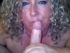 Amateur Blonde Blowjob Cumshot Mature
