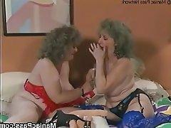 Brunette Granny Lesbian Mature Strapon