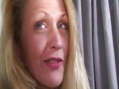 Blonde Mature Granny MILF