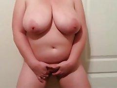 BBW Masturbation MILF