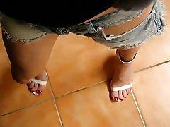 Amateur Foot Fetish High Heels MILF