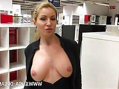 Amateur Big Boobs Public MILF