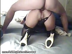 Anal Mature MILF Stockings