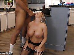 Big Boobs Mature MILF Group Sex Creampie