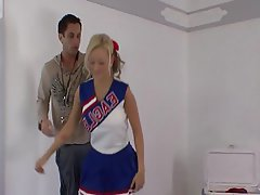 Babe Big Boobs Cheerleader Hardcore
