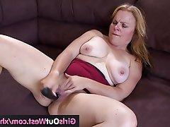 Amateur Dildo Masturbation Mature Black Cock