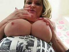 Mature MILF British Granny