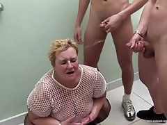Group Sex Granny Mature BBW Old and Young