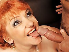 Cumshot Mature Big Boobs Old and Young