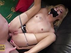 Anal Blonde Blowjob BDSM