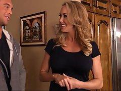 Blonde Blowjob Housewife Mature MILF