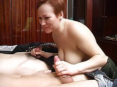Amateur Mature Old and Young Threesome