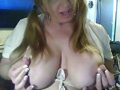 Amateur BBW Big Boobs Blonde Mature