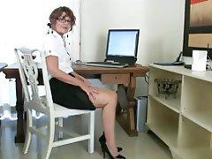 Masturbation Mature MILF POV Stockings