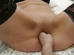 Blonde Mature Stockings