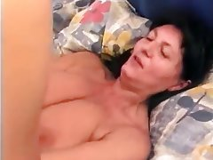Blowjob Cumshot German Granny Hairy