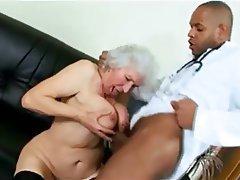 Granny Interracial Mature