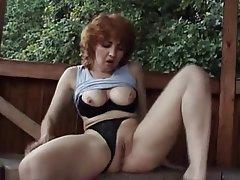 Amateur Masturbation Mature MILF Redhead
