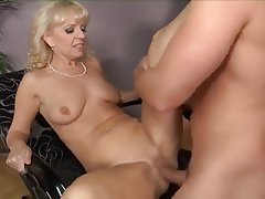 Blonde Granny Hardcore Mature Old and Young