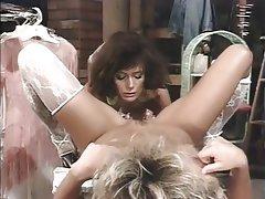 Lesbian Lingerie MILF Stockings Vintage