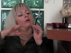 Blonde Mature Russian