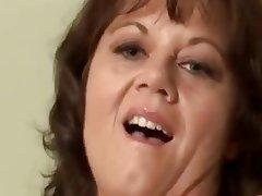 Lingerie Masturbation Mature MILF Stockings