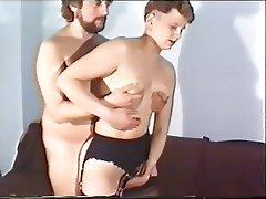 German Hairy Mature MILF Stockings