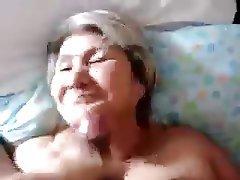 Amateur Blowjob Close Up Cumshot Granny