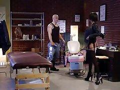 Babe Brunette Hardcore Pornstar Stockings