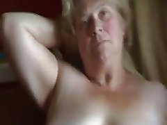 Amateur Granny Masturbation