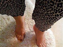 Foot Fetish Masturbation Mature MILF Stockings