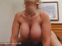 Big Boobs Cumshot Hardcore Interracial MILF
