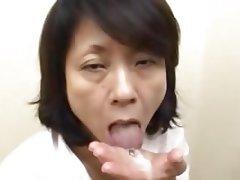 Asian Cumshot Granny Hairy Mature