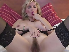 Granny Hairy Mature MILF Stockings