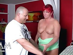 Amateur Big Boobs German Mature Redhead